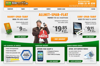 Klarmobil Datentarife