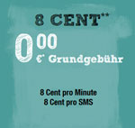 McSim 8 Cent Tarif