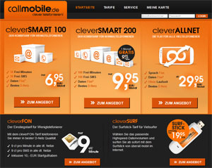 callmobile Datentarife