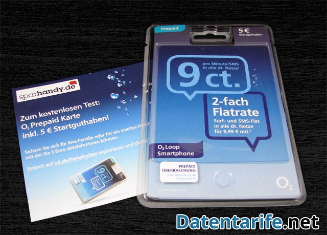 prepaid karte o2 O2 Loop Smartphone Tarif Erfahrungsbericht   Datentarife.net