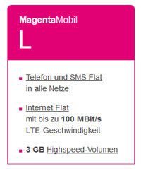 T-Mobile Magenta Mobil L