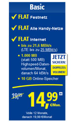 1&1 All-Net-Flat Basic E-Plus
