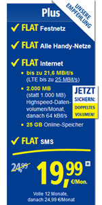 1&1 All-Net Plus Eplus
