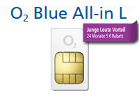 O2 Blue All-in L Junge Leute