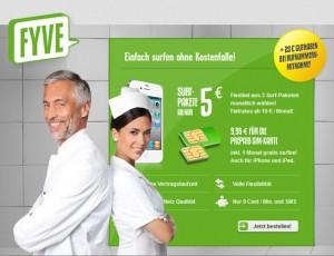 Angebot Fyve Basis-Prepaid-Tarif