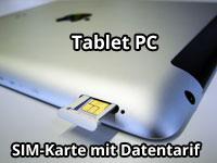 Datentarif für Tablet PC oder iPad