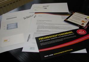 Lieferung Congstar Prepaid