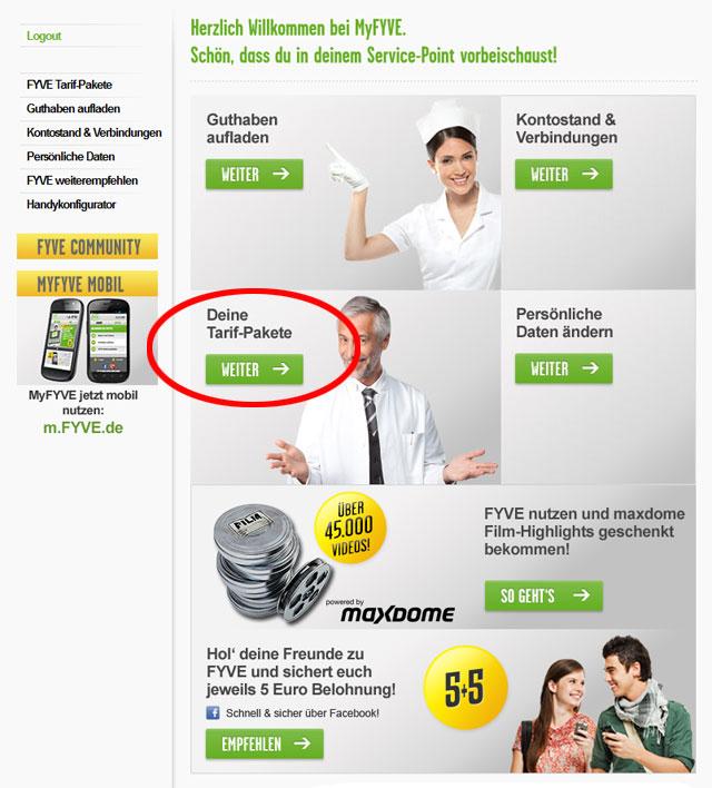 online rechnung yourfone