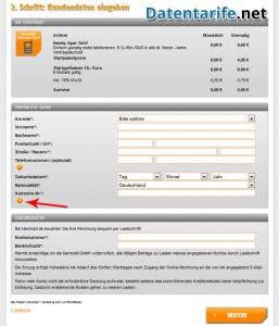 Klarmobil Prepaid Kundendaten