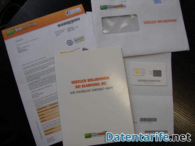 klarmobil sim karte Klarmobil Handy Spar Tarif   Erfahrungsbericht   Datentarife.net