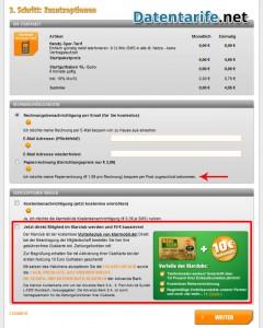 Klarmobil Prepaid Zusatzoption