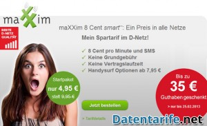 MaXXim 8 Cent smart Angebot