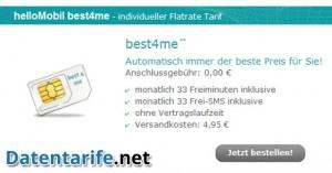helloMobil best4me Angebot