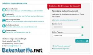 helloMobil Servicewelt Login