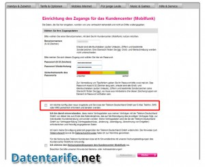 T-Mobile Kundencenter Benutzername