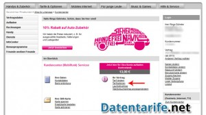 T-Mobile Kundencenter Startseite