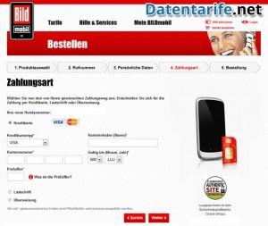 BILDmobil Starterpaket Zahlungsart
