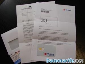 DeutschlandSIM Kosten-LIMIT Lieferung