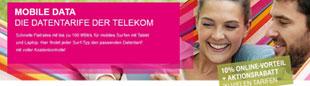 Telekom Mobile Data Datentarif im Vergleich