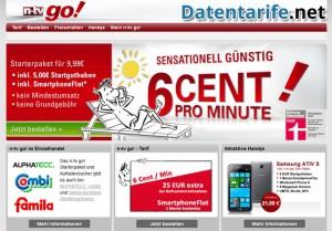 n-tv go! 6 Cent Prepaid Tarif Angebot