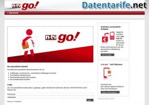 Mein n-tv go! Kundenbereich Login