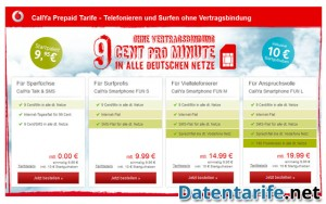 Vodafone CallYa Talk&SMS Angebot