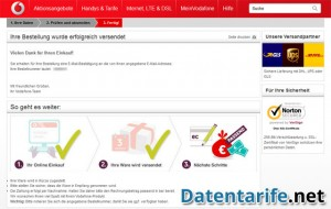 Vodafone CallYa Talk&SMS Fertig!