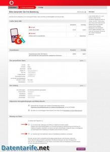 Vodafone CallYa Talk&SMS Prüfen und absenden