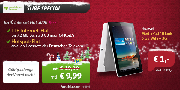 Tablet Angebot!