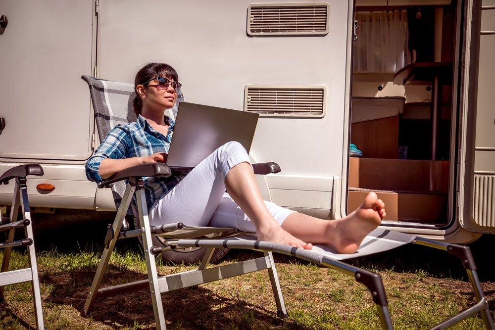 Internet Ferienhaus Wohnwagen